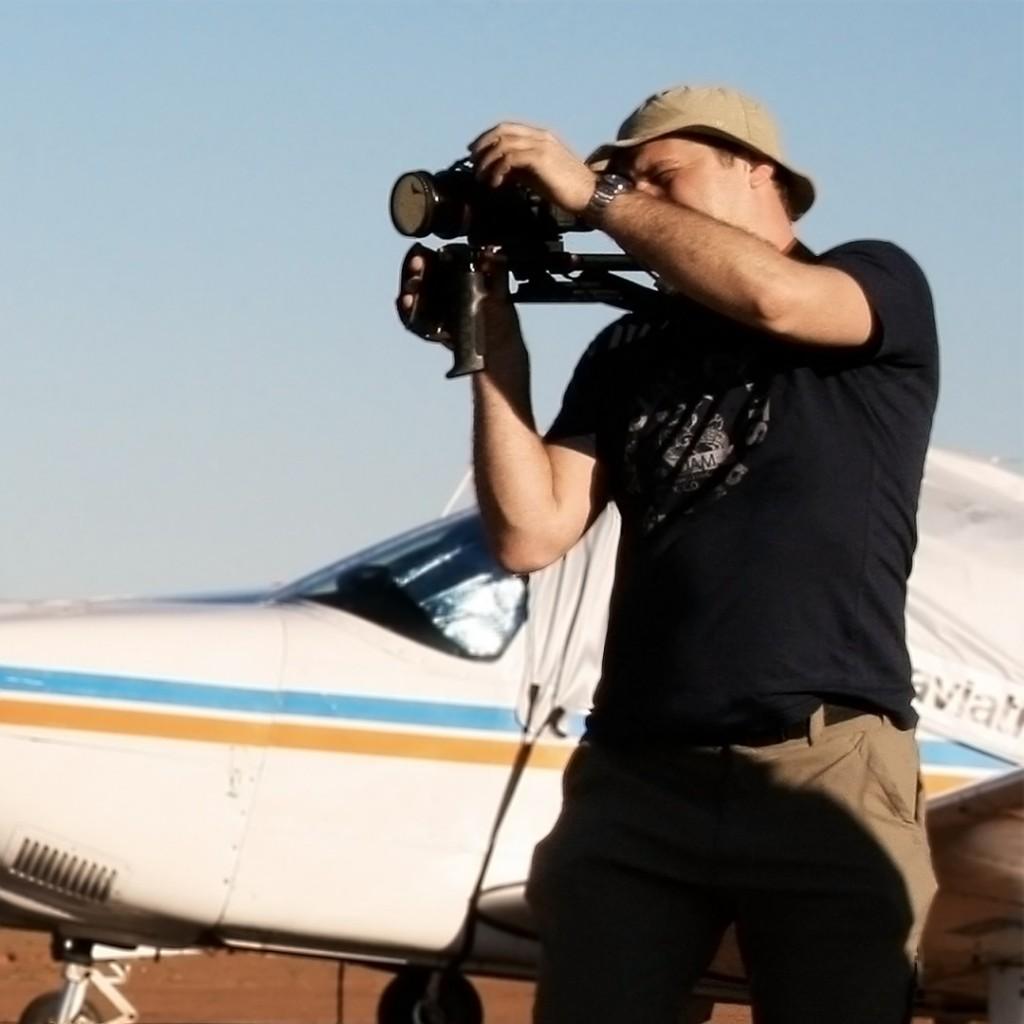 cameraman in actie